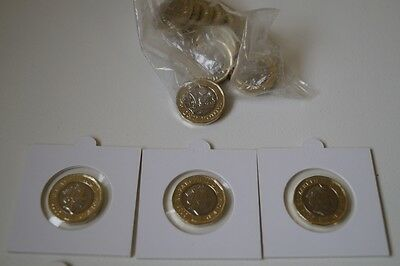 £1 One Pound Coin in holder 2016 Royal Mint New 12 Sided Brilliant UNCIRCULATED