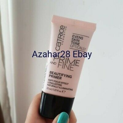 Catrice Cosmetics Prime And Fine Beautifying Primer 30 ml Discontinued