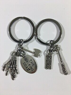 The Walking Dead Keychains Set Of 2- Ships From USA