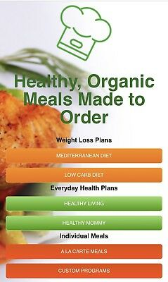 Healthy Chef Creations Online Prepared Meals Delivery Gift Card Certificate $100