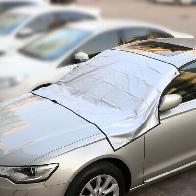 Car Magnetic Windscreen Cover Protector Ice Frost Snow Dust Sunshade Sunshield