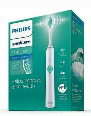 Philips Sonicare EasyClean Electric Toothbrush HX6511/50,Brand New-Sealed Box.