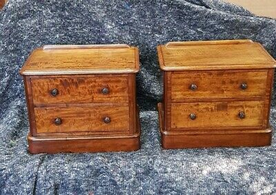 Pair Of Table Top Chest's