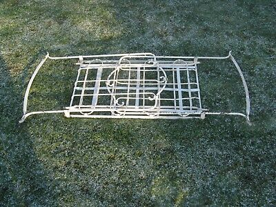 Old Victorian rocking cradle/cot which folds flat