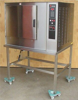 GROEN CC20-E COMMERCIAL ELECTRIC COMBI CONVECTION OVEN STEAMER ON STAND 3ph 480V