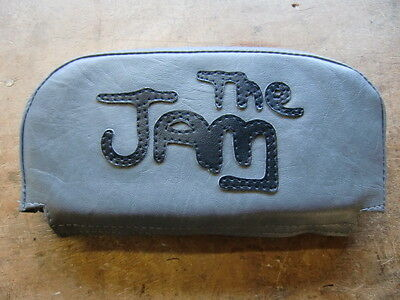 Grey The Jam Back Rest Cover (Purse Style) Vespa/Lambretta