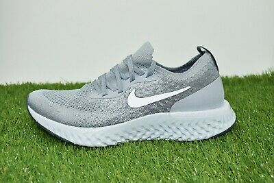 separation shoes 36e8f 7e877 New Nike Epic React Flyknit GS Size 7Y Grey White Youth Women Running  943311 002