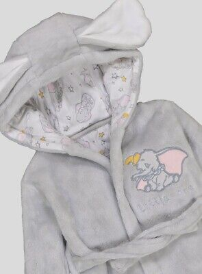 Baby Dumbo Dressing Gown - 0-3 Months - IMMACULATE