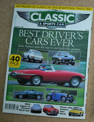 Classic & Sportscar August 1998 best ever sports cars (40 page special),Issigoni