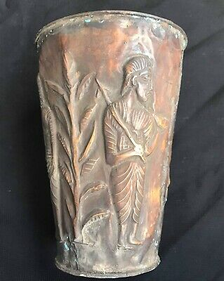 Antique Qulity Very Old Roman King Empire History Drinking Weeski Brass Glass