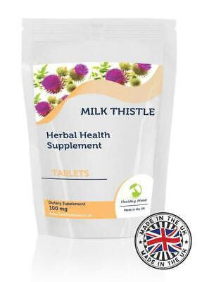 Milk Thistle 100mg Herbal 120 Tablets Pills Supplements