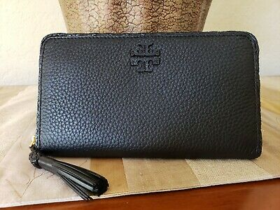 TORY BURCH Charlie Zip Continental Wallet NWT