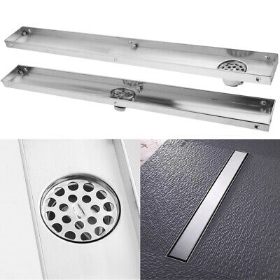 Invisible Stainless Steel Bathroom Floor Drain Waste Grate Shower Drainer