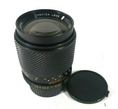 Yashica DSB 135mm f2.8 manual focus lens for Contax / Yashica SLR - Nice Mint