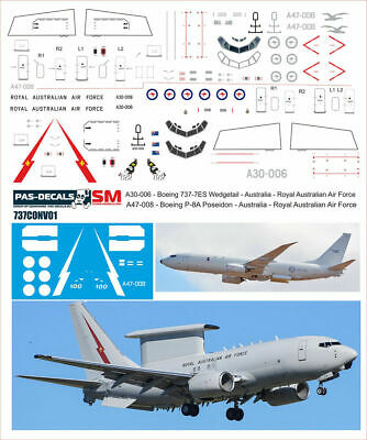 Decal for Boeing 717 MD80 photo glazing 1//144 PAS-DECALS