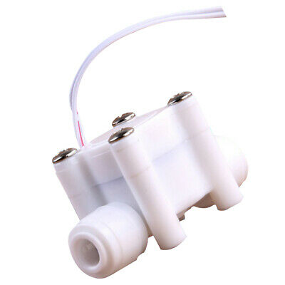 2 Points Water Flow Switch Pure Water Machine Flow Switch G1/4 Inner Wire