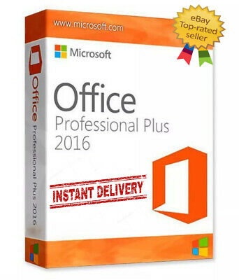 Microsoft office 2016 pro plus Genuine License Key 🔑Instant Delivery ✅32/64 bit