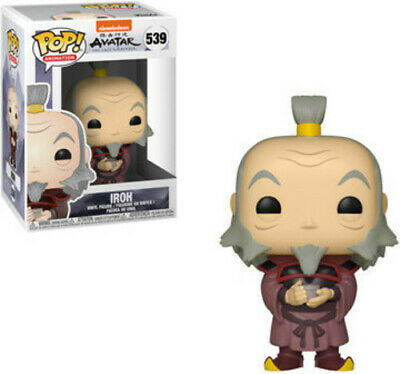 Funko Pop! Animation: - Avatar - Iroh W/ Tea (Toy Used Very Good)