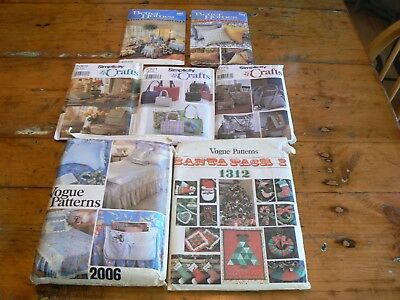 Vintage Vogue Santa Pack 2 Christmas Pattern # 1312 (6) other Craft patterns for