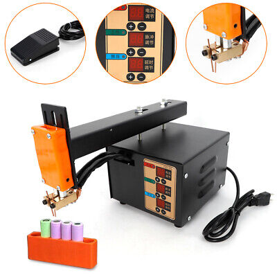 3000W 18650 Battery Pack Welder Soldering Welding Machine Pedal control US