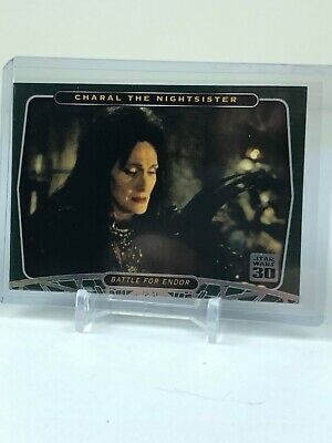 2007 Star Wars Topps 30th anniversary Trading card #97 Battle for Endor