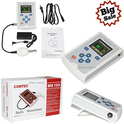 CONTEC MS100 SpO2 Simulator,Oxygen Saturation Simulation For Pulse Rate New Hot
