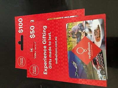 Red balloon gift voucher gift card $300 CHEAPEST ON EBAY LESS THAN 20%-