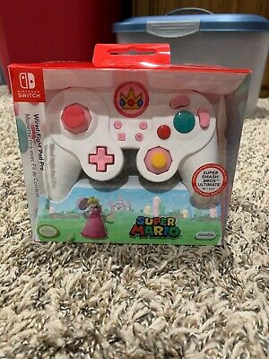 PDP Nintendo Switch Wired Fight Pad Pro - Peach Brand New