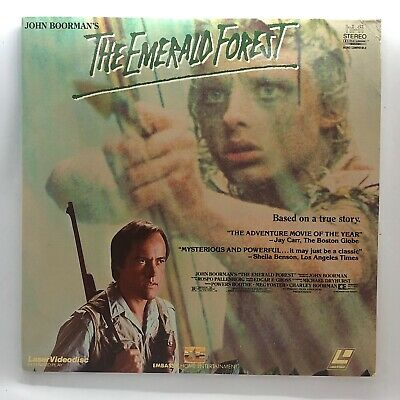 The Emerald Forest (1985) Laserdisc (21795) Powers Boothe - Meg Foster