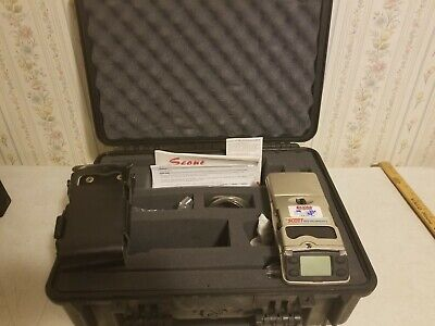 Scott SCOUT SCT096-2560 Multi Gas Detector Monitor /w Pelican Case Detection