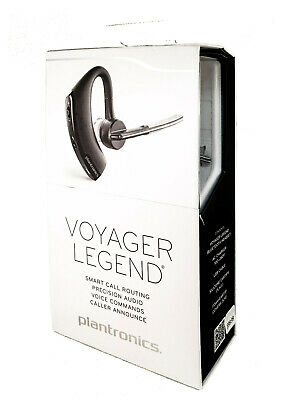 Plantronics Voyager Legend Wireless Bluetooth Headset w/ Voice Command Black SR