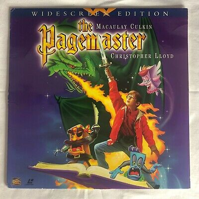 The Pagemaster (1994) Laserdisc (8641-85) Macaulay Culkin