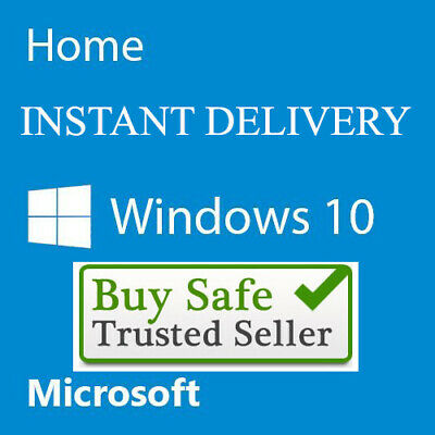 Windows 10 Home Activation [Key] 32/64 Bit License Code Windows 10 Home Genuine