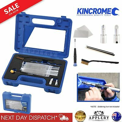 Kincrome Plastic Welding Kit with Storage Case 10Pc Welders Home Professional
