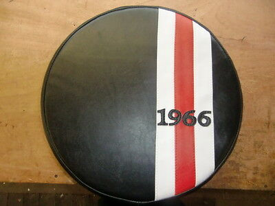England Stripe Black (Any Year) Vespa/Lambretta Scooter Wheel Cover