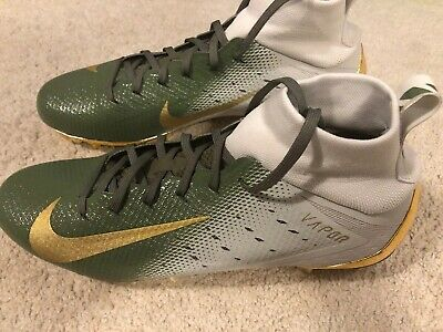 the best attitude 398ca d55f8 NWOB Nike pour Homme Vapor Intouchable 3 Pro Football Cale Taille US 11 or  Vert