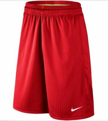 cheap for discount 92028 fcdd8 NIKE Men s Layup Basketball 2 Shorts RED Size SMALL NWT
