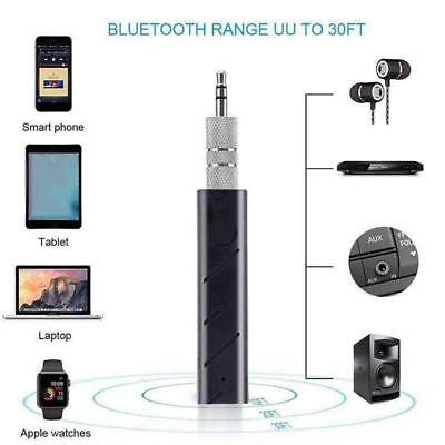35mm Wireless Bluetooth Car Kit Hände AUX Audio Receiver Adapter Mini New