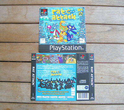 Rat Attack (1997) Playstation 1 Cover Originale, No Disco