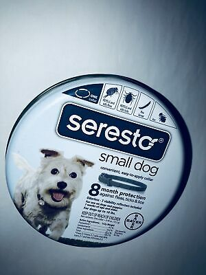 Bayer Seresto flea and tick collar for Small dogs flea and tick prevention