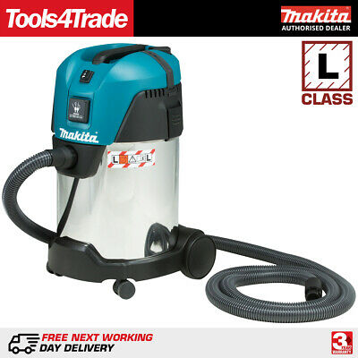 Makita VC3011L 240V Vacuum Cleaner Wet and Dry Dust Extractor 28L