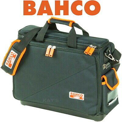 Bahco Technicians Case Hard Rubber Base Electricians Tool Storage Bag,4750Fb4-18