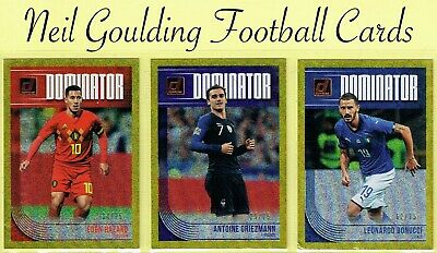 b75af54e348 Panini DONRUSS SOCCER 2018-2019 ☆ DOMINATORS - GOLD PARALLEL ☆ Cards   75