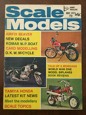 Scale Models magazine - May 1972