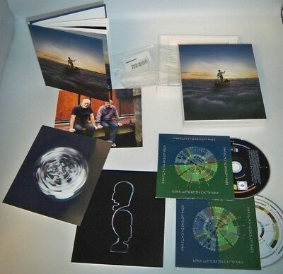 PINK FLOYD Endless River, CD & DVD Deluxe Box Set + H/B Book & postcards, SEALED