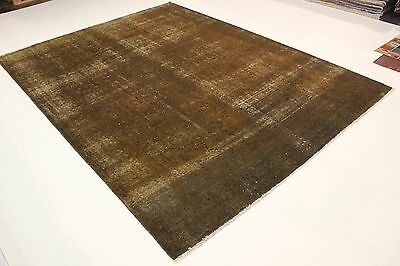 Design Vintage Jean Laver Used Look Persan Tapis Tapis D'Orient 3,75 X 2,83