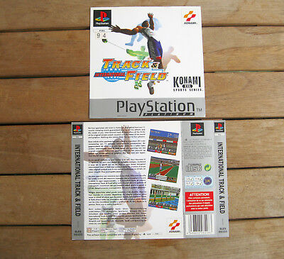 International Track & Field (1996) Playstation 1 Cover Originale, No Disco