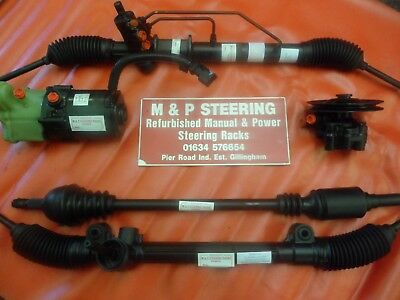 BMW E30 power steering rack refurbish your own unit service Ally/Steel types