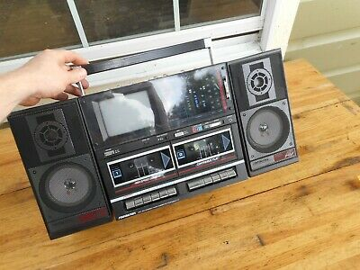 Nice Vintage 1980S Soundesign 4873 Xl Boombox Tv Stereo Cassette Radio Portable