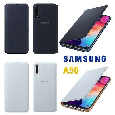 Custodia Samsung Galaxy A50 2019 A505 Originale - Wallet Flip Cover Case a Libro